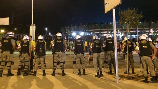 Brazil cops