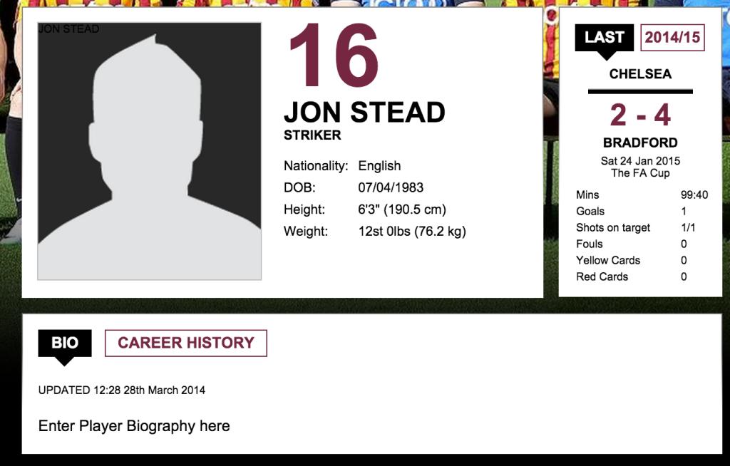 Jon Stead