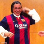 Barca supporting nun gets abused on Twitter for Cristiano Ronaldo comment