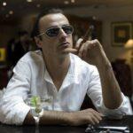 Dimitar Berbatov lectures Jack Wilshere about smoking