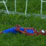 Ghana's goalkeeper brought his lucky Spider-Man figure onto the pitch for AFCON semifinal