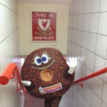 Dunkin' Donuts replaces tribute to Hillsborough victims with iced coffees in Liverpool crest parody