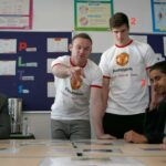 An analysis of the looks Wayne Rooney received during his visit to a high school