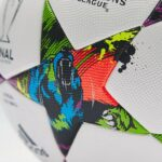 The 2015 Champions League final match ball is covered with ravenous bears