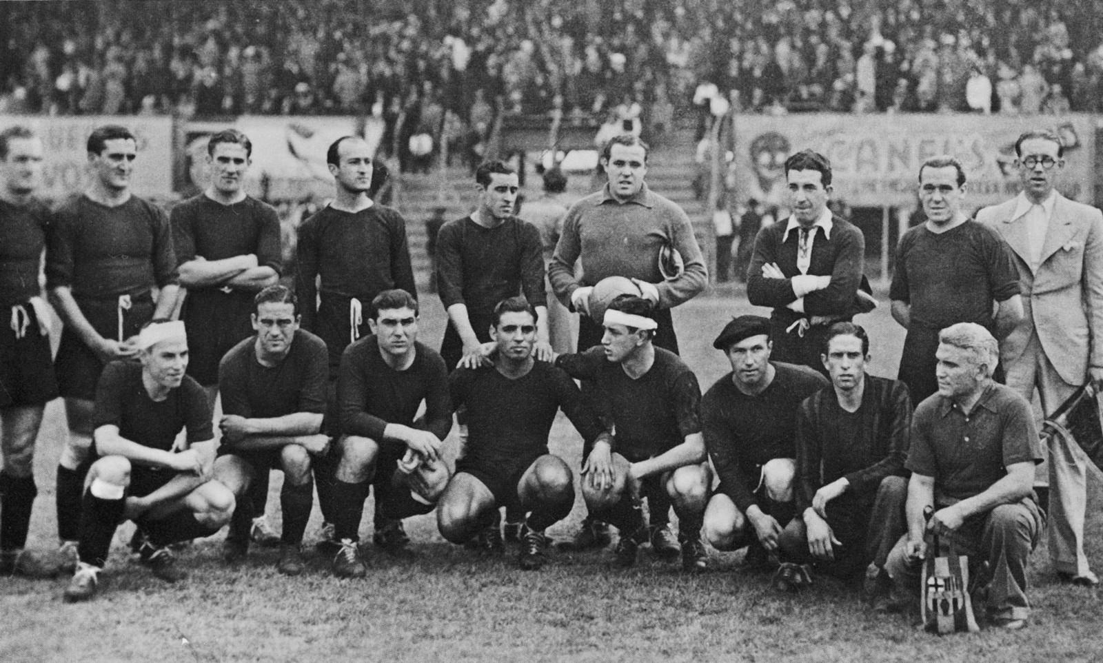 Equip Gira Americana 1937