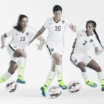The U.S. Women's World Cup home kit is black, white and neon green for some reason