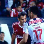 Tijuana's Juan Arango gets away with biting opponent on the shoulder