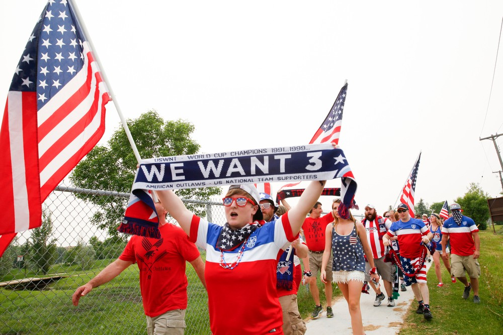 The American Outlaw pre-USA v Australia match party in Winnipeg, Canada on Monday, June 8th, 2015. Photos by Jasmin Shah.