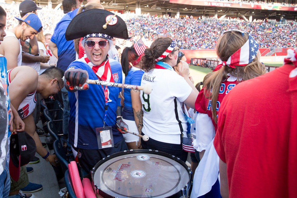 The USA v Sweden match in Winnipeg, Canada on Friday, June 12th, 2015. Photos by Jasmin Shah.