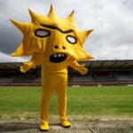 Embrace the spiky weirdness of Partick Thistle FC's not-so-cuddly new mascot