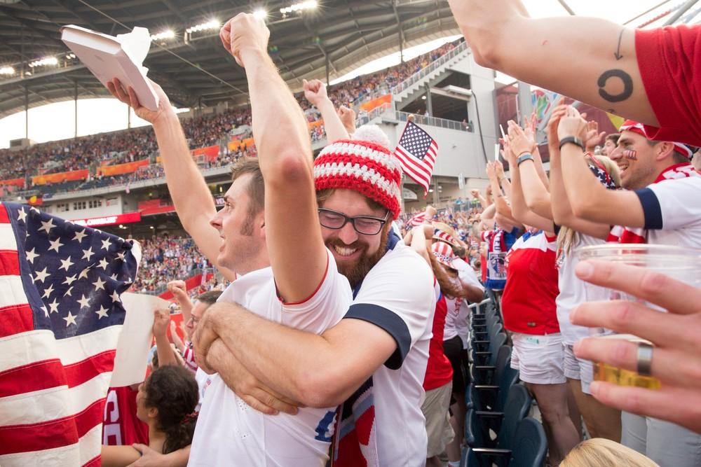 The USA v Australia match in Winnipeg, Canada on Monday, June 8th, 2015. Photos by Jasmin Shah.