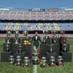 Barcelona make Xavi cry some more with special tribute event