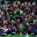 Thomas Vermaelen gets a Champions League winner's medal for playing one La Liga match this season
