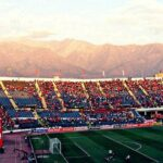 The Andes are Always Watching Over Estadio Nacional