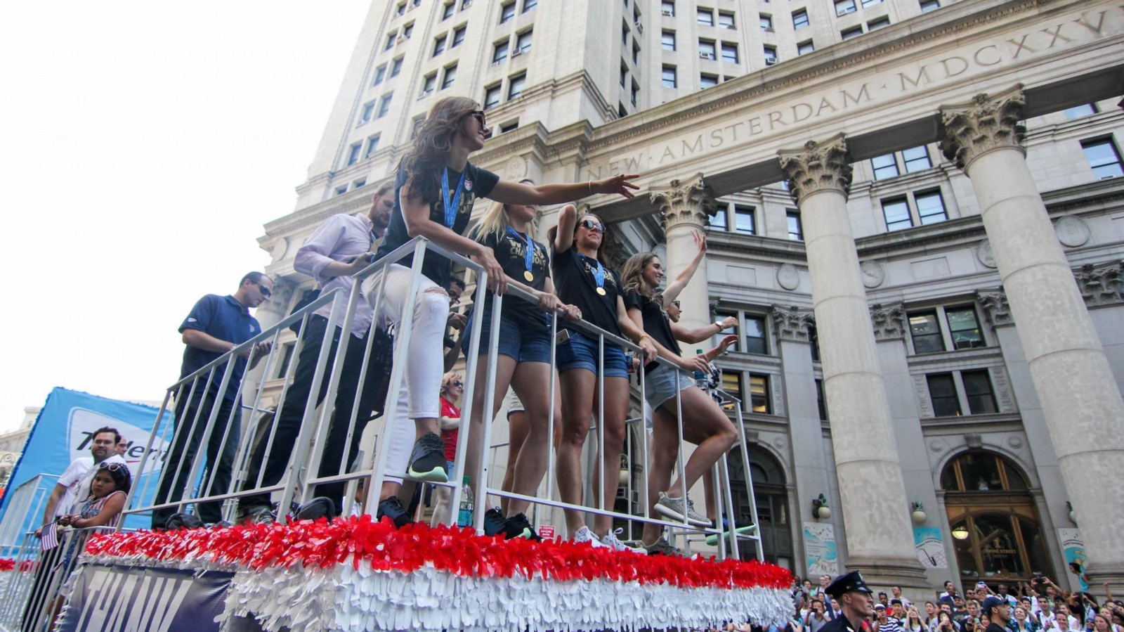 USWNT Parade