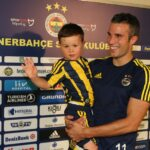 Boy who cried over Man Utd losing Van Persie meets his hero in Turkey