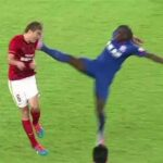 DTotD: Demba Ba kicks opponent in the head, only gets yellow card