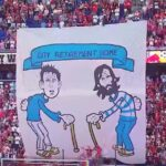 NY Red Bulls fans troll Lampard and Pirlo, David Villa tears opponent's shorts