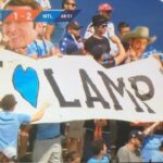 """NYCFC fans mark Frank Lampard's debut with """"I love Lamp"""" banner"""