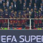 Barcelona overcome first MEGA CRISIS of the season to win UEFA Super Cup