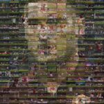 Roma produce photomosaic of all 300 Francesco Totti goals