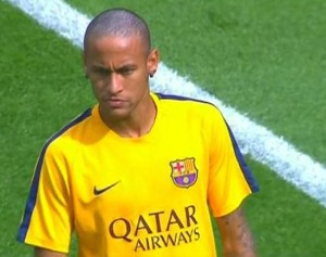 Neymar's haircut was somehow not the biggest tragedy in Barcelona this weekend