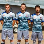 Newcastle Jets unveil kit with fighter jets on it