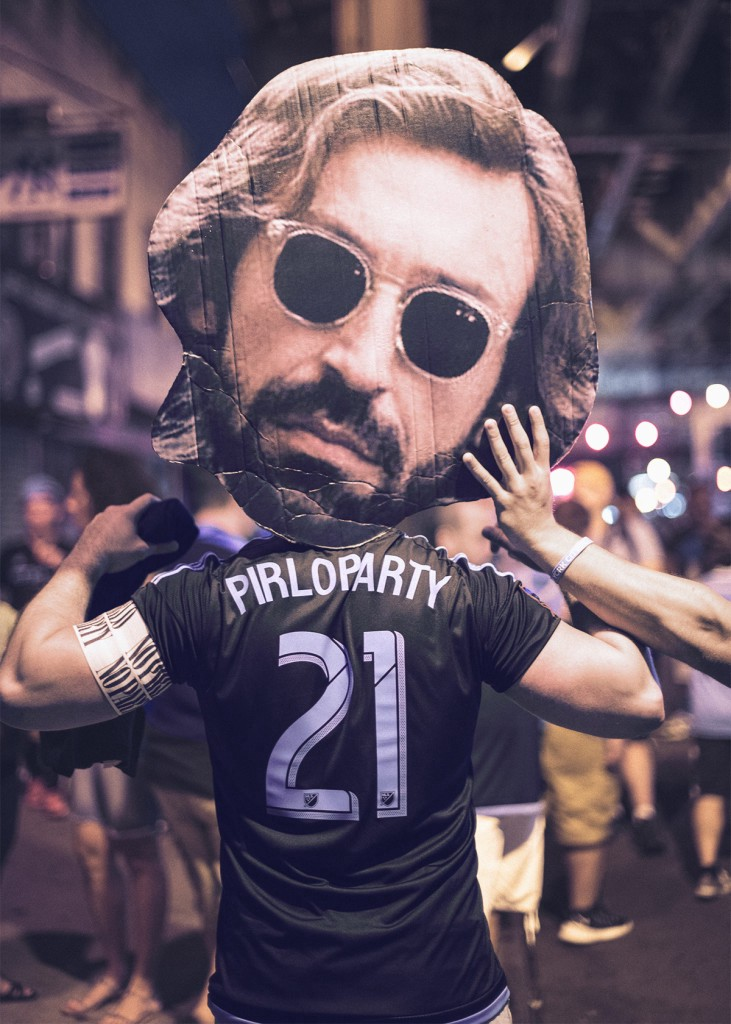 """No Pirlo, no party"""