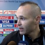 Something terrible has happened to Andres Iniesta's head