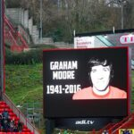 Charlton use picture of Alan Campbell in tribute to late Graham Moore