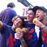 Neymar, Luis Suarez have burger bet on Brazil-Uruguay outcome