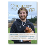 Joe Allen appears on cover of magazine about chickens (and eggs)