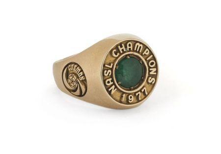 Pele's 1977 NASL championship ring