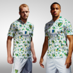 "Norwich third kit pays homage to famous ""bird poo kit"""