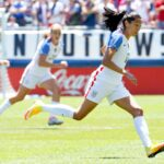 Visualizing Every U.S. women's national team goal since January 2014