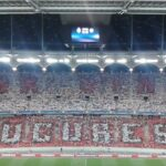 Dinamo Bucharest fans sabotage Steaua Bucharest choreography