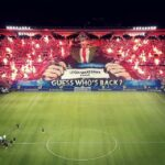 Legia Warsaw fans produce the most intimidating Champions League tifo display
