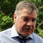England manager Sam Allardyce, in memoriam