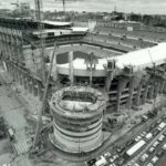 Breaking ground on Real Madrid's iconic home