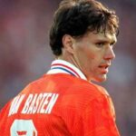 Marco van Basten's international farewell