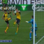 Arsenal beat Burnley with last-second, offside handball goal