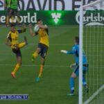 Arsenal beat Burnley with last-second, offside handball goal