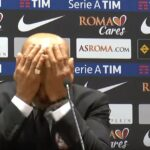 Reporter's question drives Luciano Spalletti to bash his head against table
