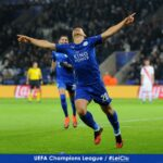 Leicester City advance in Champions League with more wins than they have in the Premier League