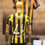 Fenerbahce selling shirts with upside down name and number for bicycle kick specialist Moussa Sow