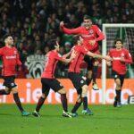 Eintracht Frankfurt joins the enjoyable logjam atop the Bundesliga table