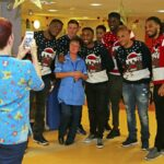 Hospital patients bring holiday cheer to downtrodden Sunderland players