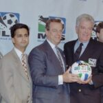 The launch of Major League Soccer