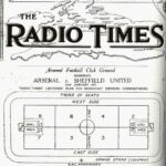 The first live radio football broadcast
