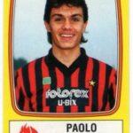 Paolo Maldini's Milan debut